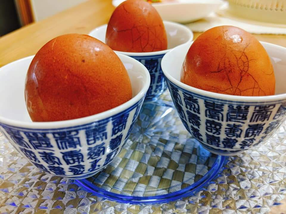 兒時街頭小食: 茶葉蛋