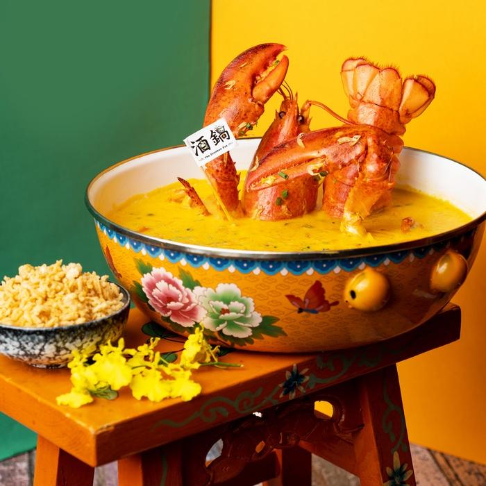 火鍋熱點「酒鍋」首度推出滋味雞煲系列/自家製炸物/手工餃子 以上兩款雞煲除可供單