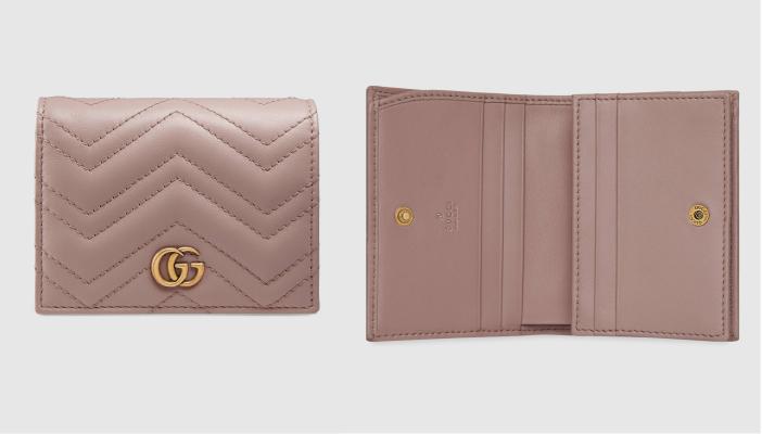 【女裝短銀包】10款$5,000以下實用名牌短銀包 經典款式耐看不過時 GUCCI GG Marmont卡片短銀包