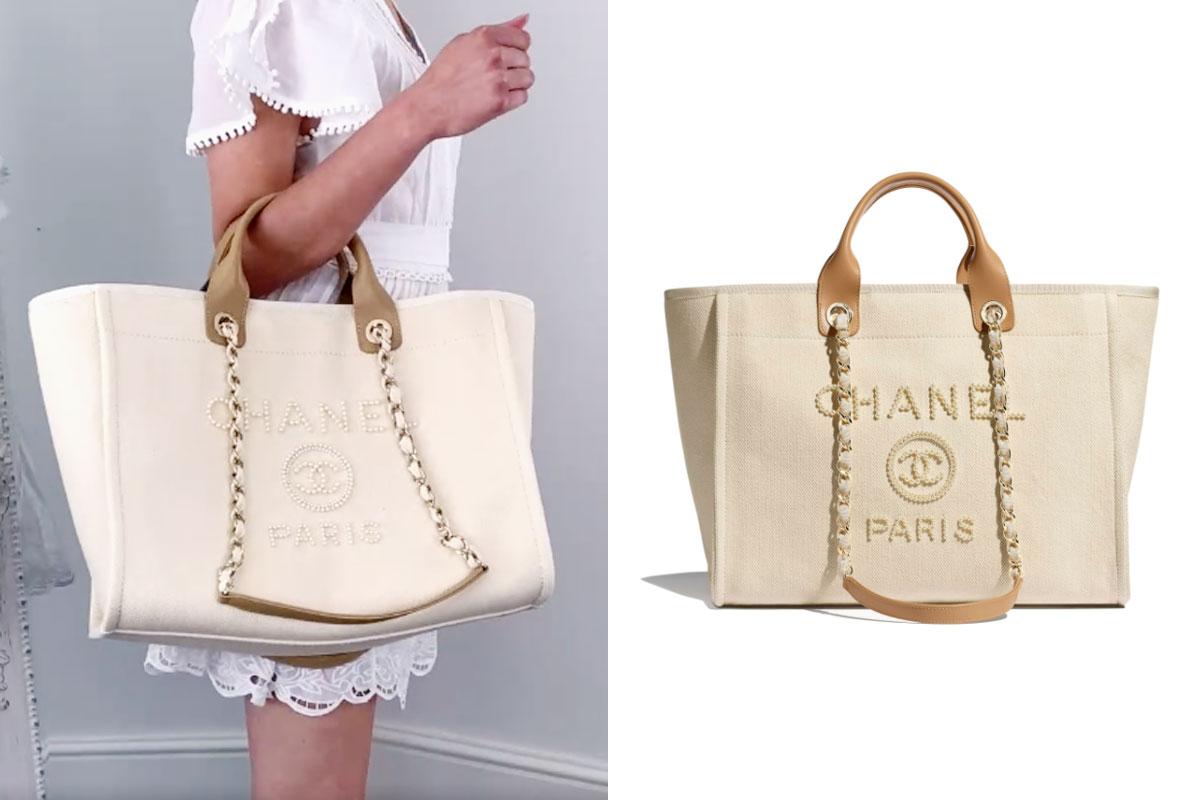 【2021 Tote Bag推介】精選20個名牌大熱款式返工袋 | 百搭易襯OL必備 2021Tote Bag返工袋推介Chanel Tote