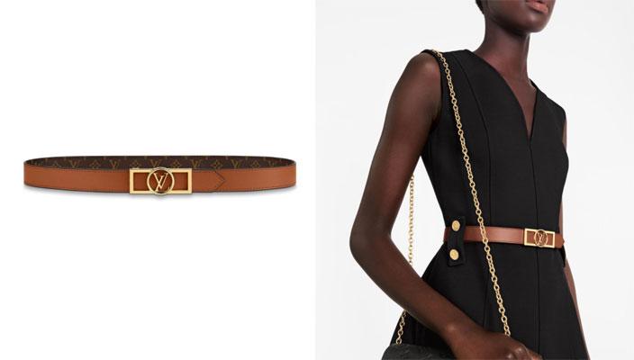 【秋冬必備潮流單品】時尚KOL顯瘦穿搭秘訣!18款入門級時尚品牌LOGO皮帶 Fendi logo-print leather belt