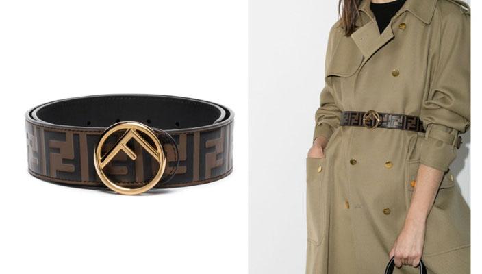 【秋冬必備潮流單品】時尚KOL顯瘦穿搭秘訣!18款入門級時尚品牌LOGO皮帶 Burberry Monogram Motif buckle belt