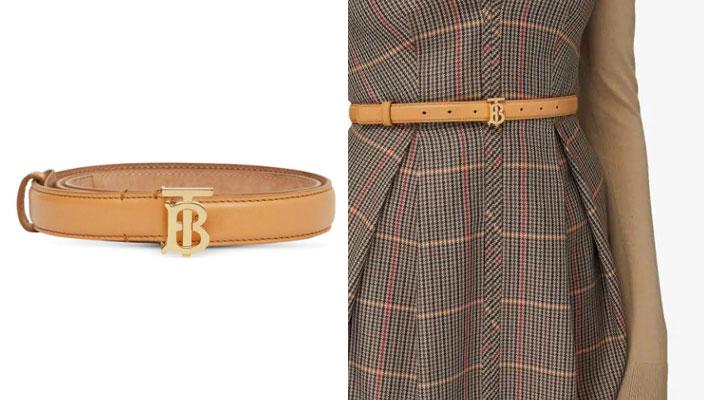 【秋冬必備潮流單品】時尚KOL顯瘦穿搭秘訣!18款入門級時尚品牌LOGO皮帶 Balenciaga BB thin belt
