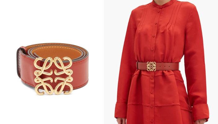 【秋冬必備潮流單品】時尚KOL顯瘦穿搭秘訣!18款入門級時尚品牌LOGO皮帶 VERSACE Leather belt