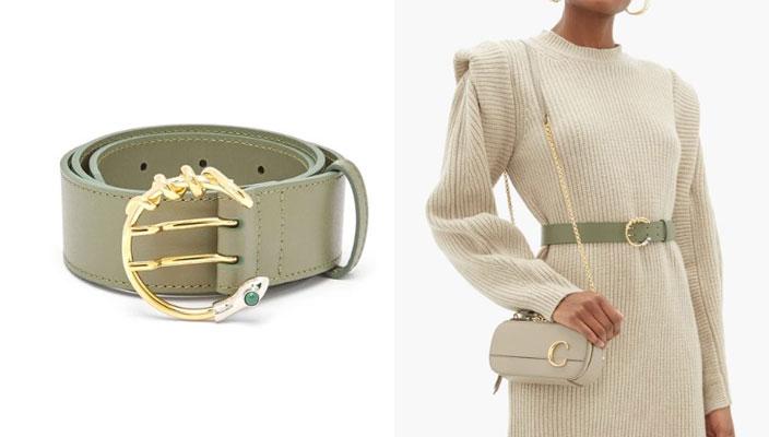 【秋冬必備潮流單品】時尚KOL顯瘦穿搭秘訣!18款入門級時尚品牌LOGO皮帶 Prada logo plaque belt