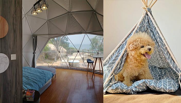 【香港露營渡假】5個情侶Glamping露營地點推介 在大自然中仰望夜空 露營近
