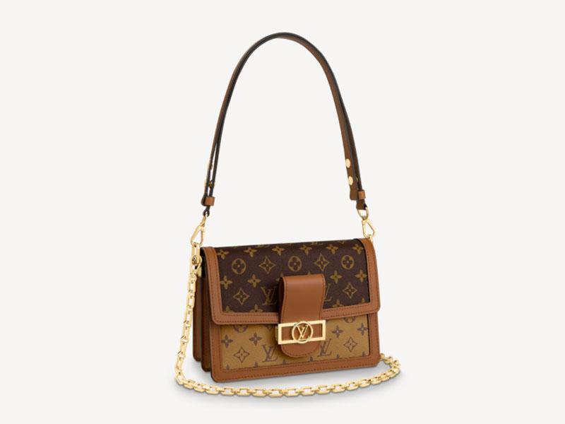 2021年Chanel 、Louis Vuitton、Celine宣佈再加價|15款最值得投資的經典款手袋 Louis Vuitton DAUPHINE HK$27,600(按此購買)