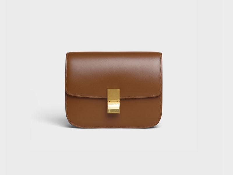 2021年Chanel 、Louis Vuitton、Celine宣佈再加價|15款最值得投資的經典款手袋 Celine MEDIUM CLASSIC BAG IN BOX CALFSKIN HK$3