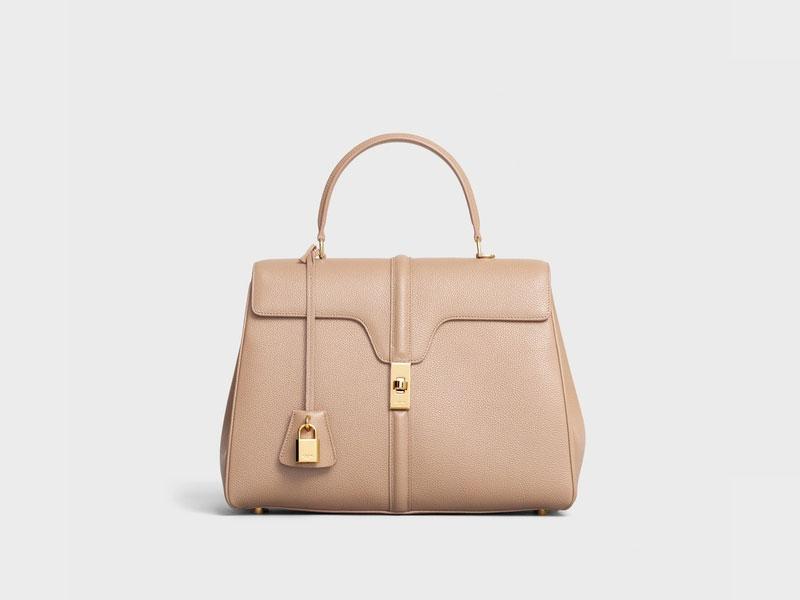 2021年Chanel 、Louis Vuitton、Celine宣佈再加價|15款最值得投資的經典款手袋 Celine MEDIUM 16 BAG IN GRAINED CALFSKIN HK$34