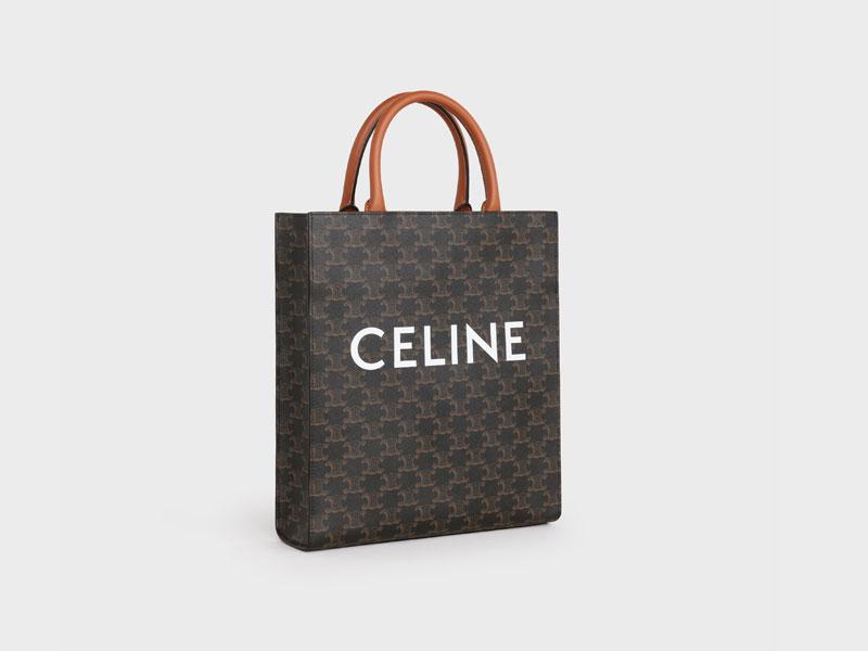 2021年Chanel 、Louis Vuitton、Celine宣佈再加價|15款最值得投資的經典款手袋 Celine SMALL CABAS VERTICAL IN TRIOMPHE CANVAS