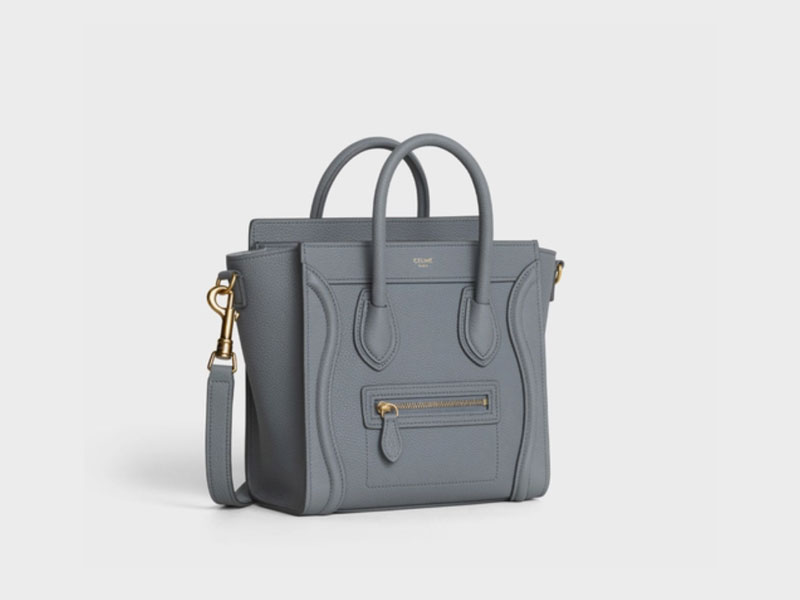 2021年Chanel 、Louis Vuitton、Celine宣佈再加價|15款最值得投資的經典款手袋 Celine NANO LUGGAGE BAG IN BABY DRUMMED CALFSK