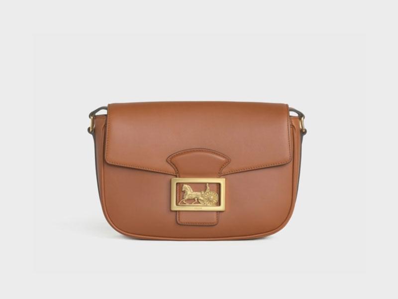 2021年Chanel 、Louis Vuitton、Celine宣佈再加價|15款最值得投資的經典款手袋 Celine MEDIUM SULKY BAG IN SMOOTH CALFSKIN HK$
