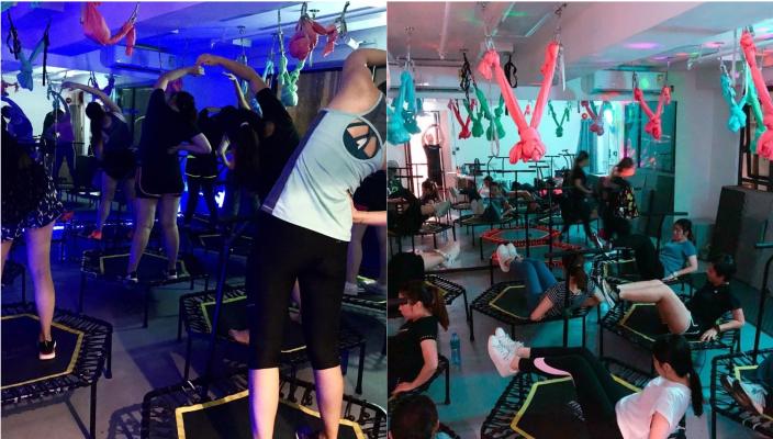 快速瘦身拍拖活動丨情侶減肥運動推介!空中雙人瑜伽丶Bungee fitness