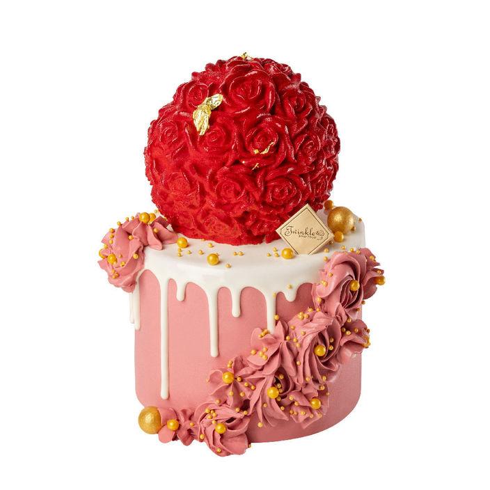 母親節蛋糕2021丨精選8款餅店丶酒店蛋糕 !半島果醬蛋糕丶La Famille戚風蛋糕 母親節蛋糕2021丨Twinkle Baker Décor:薔薇盛典Twinkle Baker Décor以全