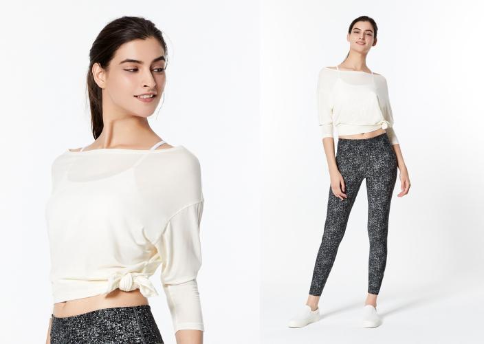 7大外國、台灣及本地瑜伽服品牌推介 附挑選瑜伽褲及運動內衣小貼士 Bertii Exquisite Up Cropped Sleeve