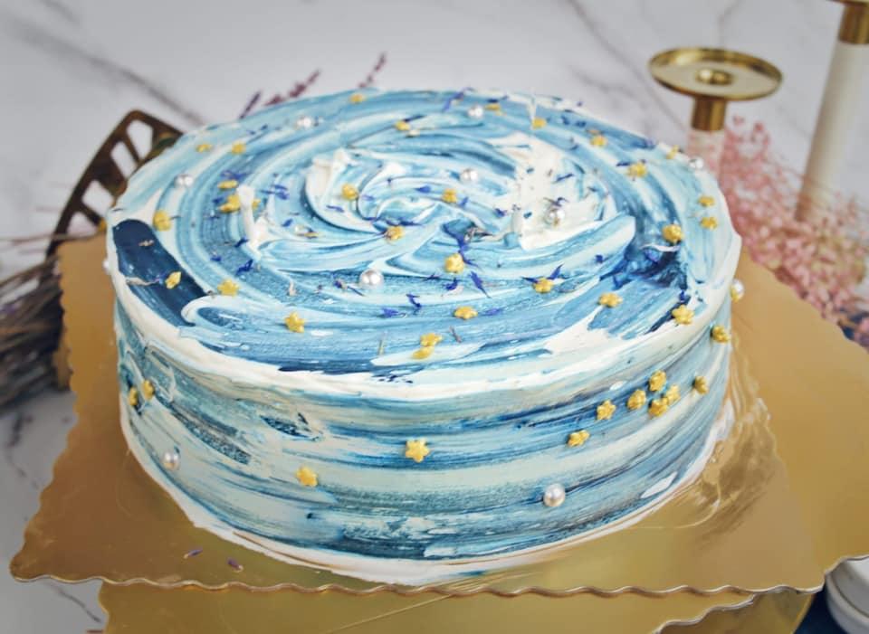 生日蛋糕推薦2021丨打卡生日蛋糕推介!獨角獸蛋糕丶彩虹戚風蛋糕 Vincent Earl Grey HKD$810起