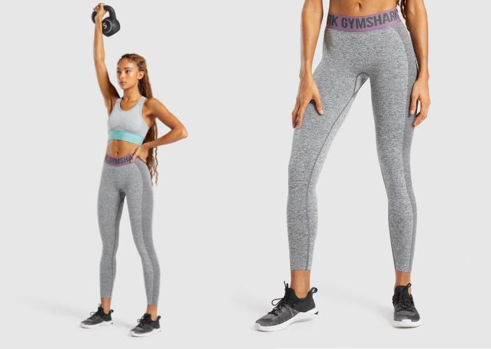7大外國、台灣及本地瑜伽服品牌推介 附挑選瑜伽褲及運動內衣小貼士 Gymshark瑜伽褲的另外一個賣點就是它臀部的設計,用深淺色對比加深臀部輪廓,令身形更立體。腰部的橡筋位置亦印有品牌Gymshark