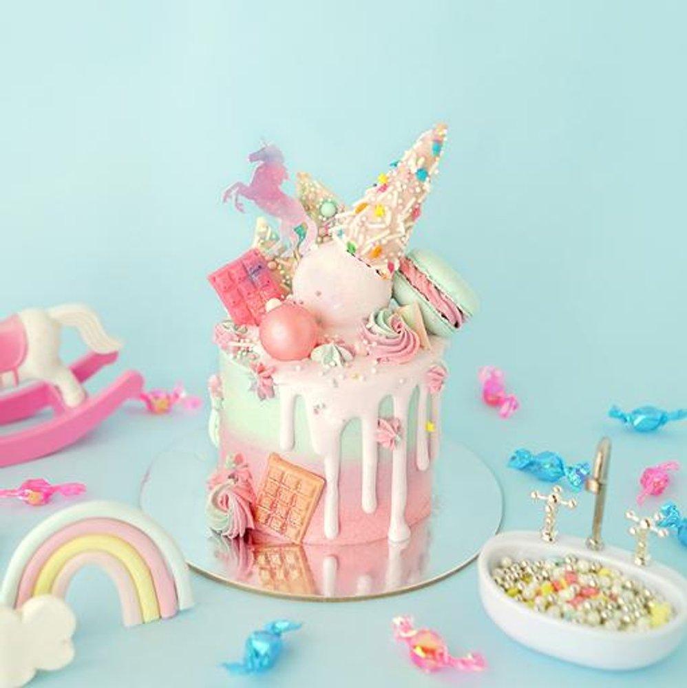 生日蛋糕推薦2021丨打卡生日蛋糕推介!獨角獸蛋糕丶彩虹戚風蛋糕 SIGNATU