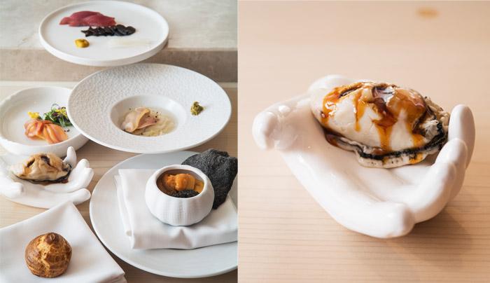 父親節2021丨特色父親節餐廳推介 ! Whisky火焰熟成肉眼丶Fusion創新日本料理 總廚在19道菜廚師發辦體驗當中,以當代歐洲烹調手法融入傳統的日式風格,可以為爸爸帶來全新寬味覺體驗。菜單當中