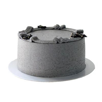 父親節蛋糕2021丨型格限定蛋糕推薦!威士忌酒桶蛋糕丶古董錢七雪糕蛋糕 The Cakery Black Sesame Cotton Cake