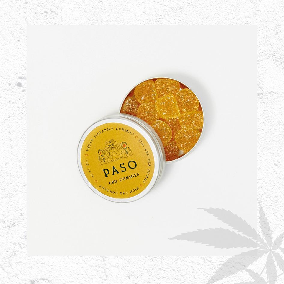 【CBD迷思】大熱CBD大麻二酚產品推介: CBD護膚品 、CBD精油、CBD糖果、CBD寵物零食 如果鍾意食糖,又心思思想試試CBD,推介你Paso推出的CBD Gummies,隨時食一粒有助提神醒