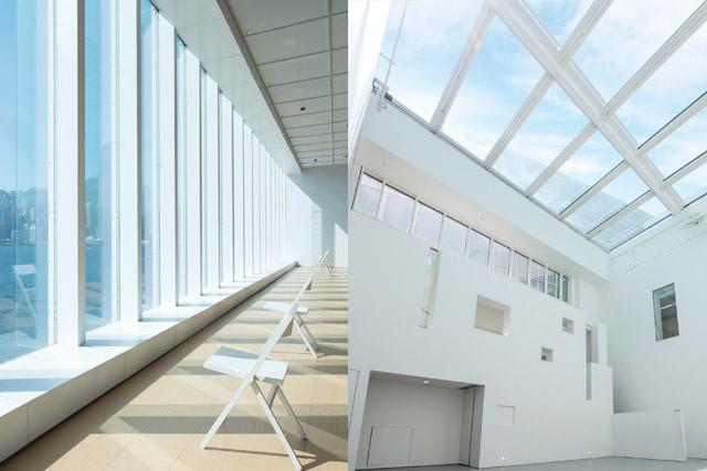 週末拍拖約會企劃|尖沙咀情侶打卡、下午茶好去處|一日約會行程路線圖 藝術館是免費參觀的,定期舉辦不同類型的藝術展覽,當中最受歡迎的要數到館內多張白雲狀椅子以及巨形的白雲裝置,絕對是必到的打卡場景!