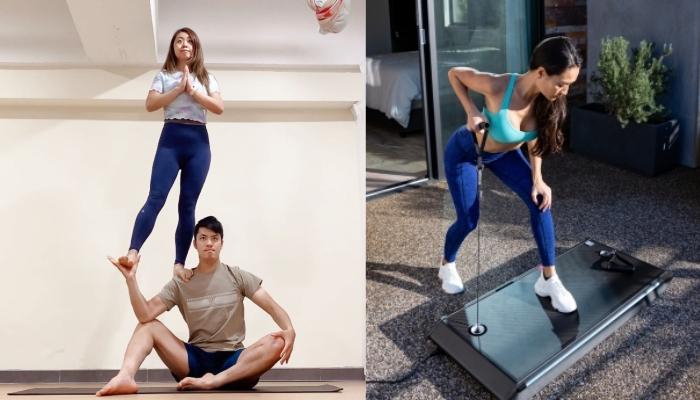 情侶減肥運動丨必試空中雙人瑜伽丶彈床!情侶運動用品推介  快速瘦身_拍拖活動_減肥運動_情侶瑜伽