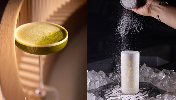 中環街市開幕|Happy Hour新地標!人氣餐廳美食、生活概念店搶先睇|詳細地址、交通教學、開放時間詳情 I-O-N「Martini」HK$108(Coffee, Matcha, Gin)以杏霜為靈