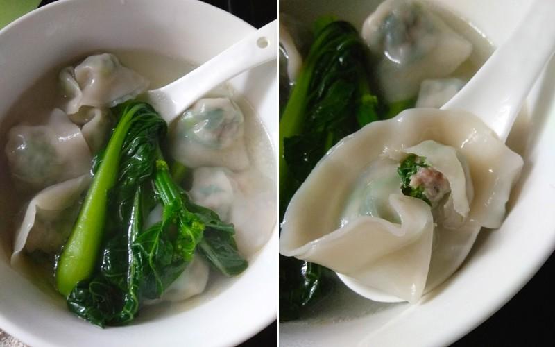 【坐月食譜】營養小食:菜心豬肉餃子