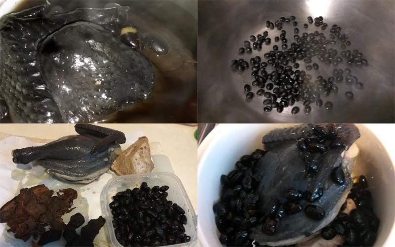 【坐月食譜】齊首烏黑豆燉烏雞湯,產後護髮必飲!