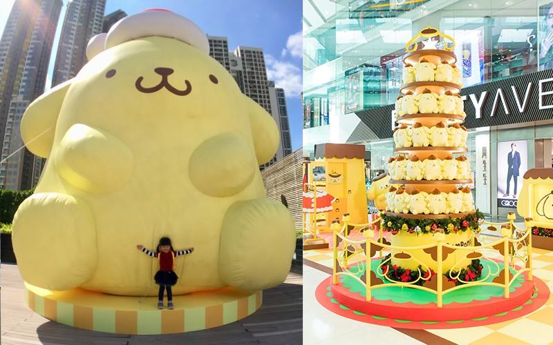 【聖誕特集】Sanrio家族六大成員打卡場景+見面會(有片)