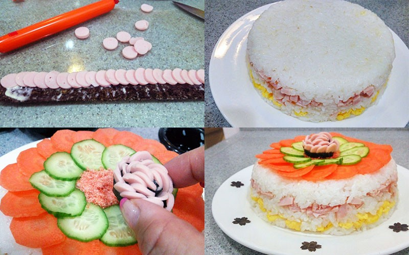 【3月女兒節小知識】附「散壽司」蛋糕食譜