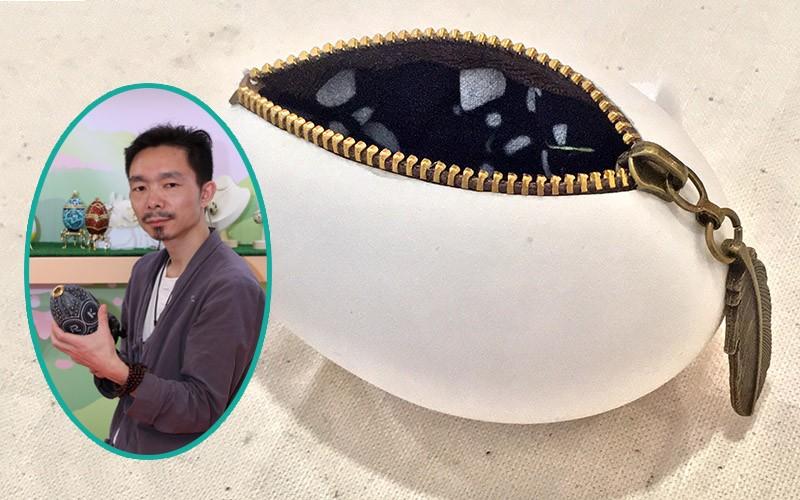 【蛋藝師專訪】施申炳老師示範DIY蛋殼小擺設