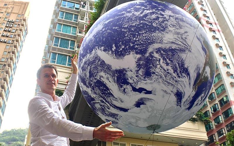 【打卡必去】巨型自轉地球GAIA藝術展覽