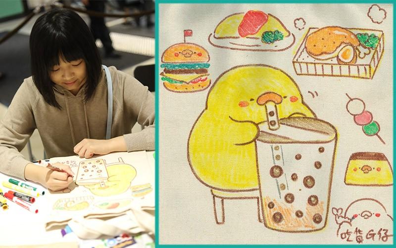 【台灣著名插畫師「吃貨雞仔」專訪】推介台北必吃親子美食