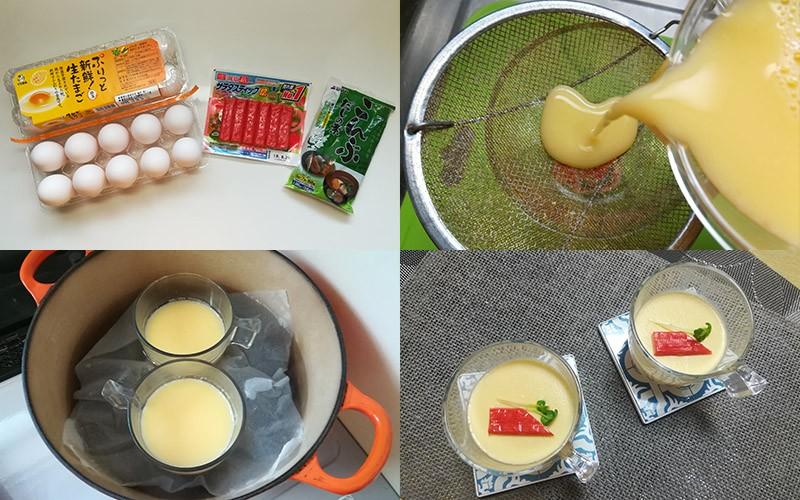 【為寶寶補充蛋白質】玉子燒+茶碗蒸+溫泉蛋食譜