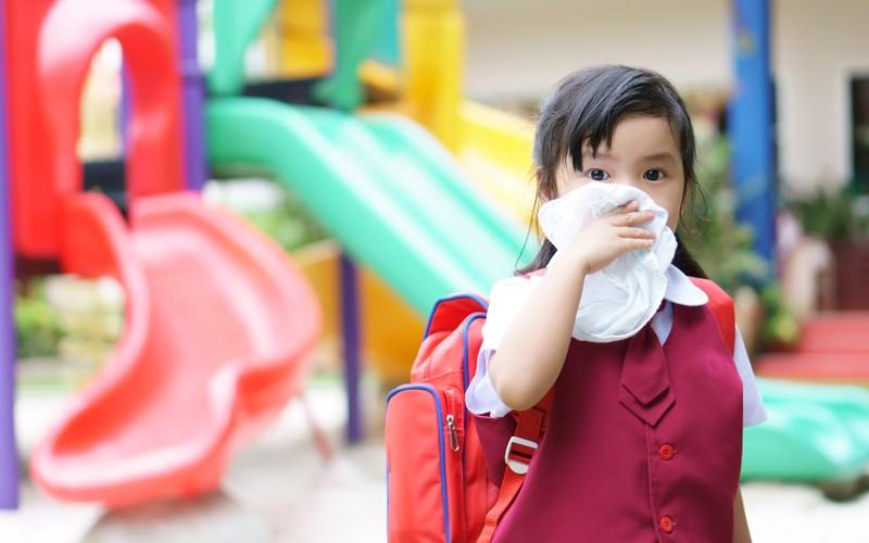 慎防兒童開學感染4 大高危疾病