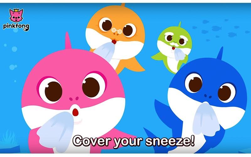 洗腦兒歌Baby Shark推抗疫版本  教小朋友勤洗手 (附免費教材下載)