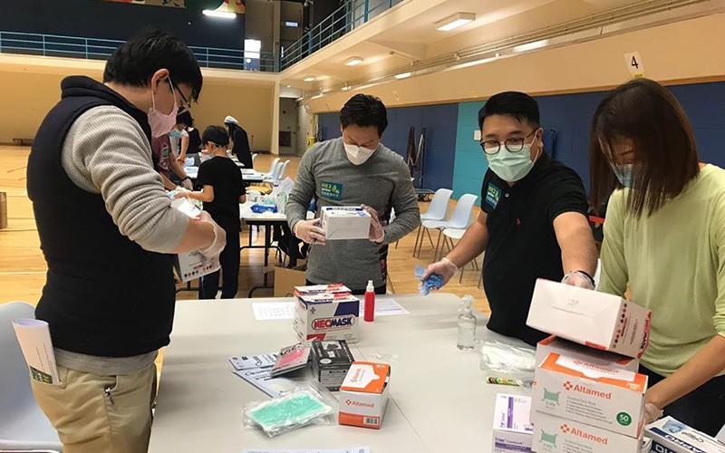 【眾籌捐口罩】本週末起全港50個收集點 捐抗疫物資予20多間慈善機構  (附收集點)