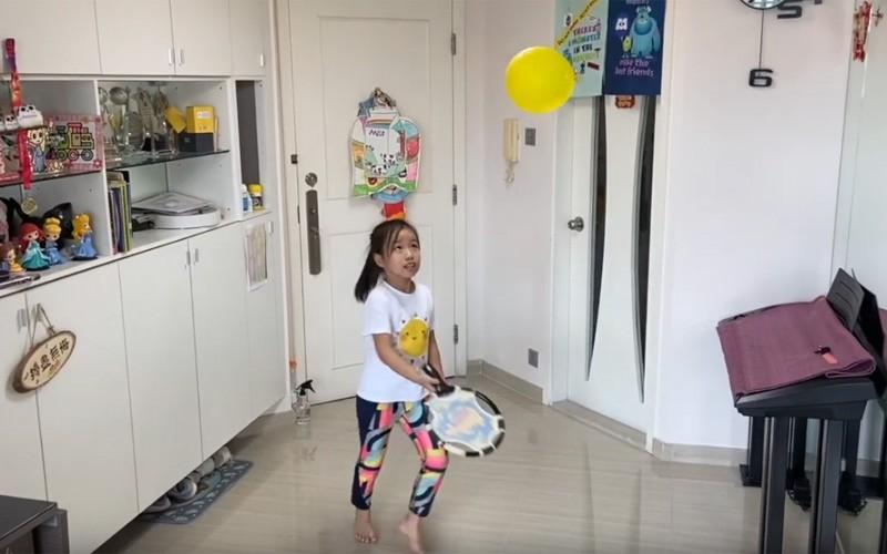 【留家抗疫】家居運動示範 大小朋友毋需健身器材練體能