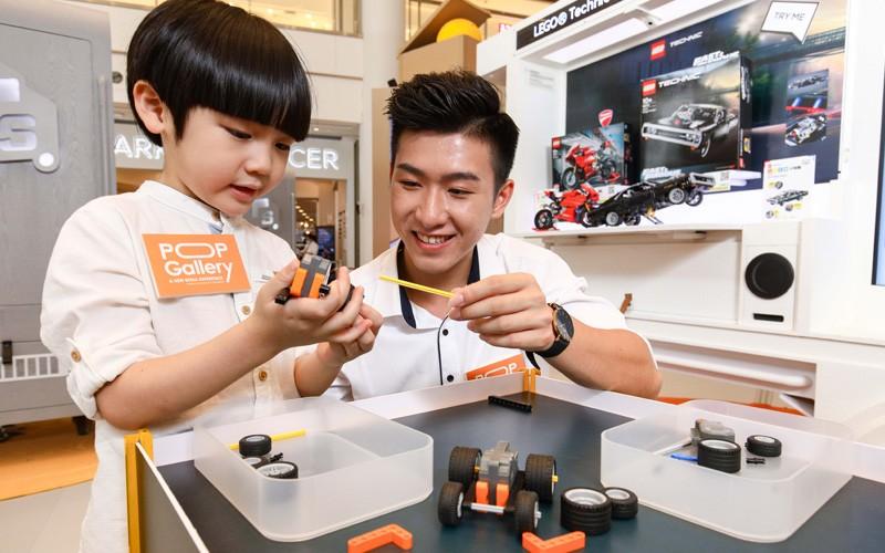 【2020假期商場放電】全新室內兒童高爾夫球遊樂場 & LEGO Technic X STEM工作坊考小朋友腦筋