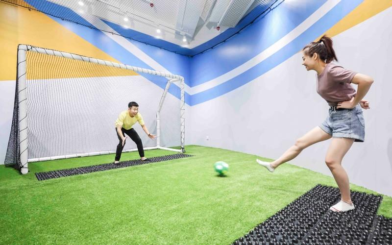 【親子好去處】 全新室內放電場地5千多呎NAMCO SPORTAINMENT ARENA 運動x娛樂考運動細胞