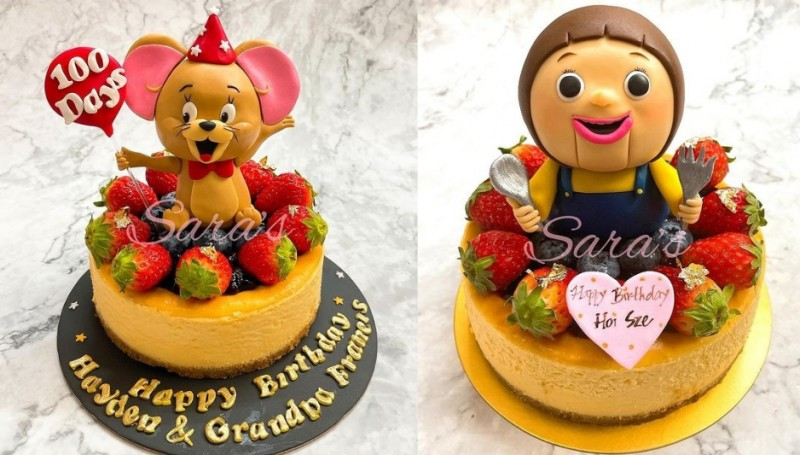 生日蛋糕推薦2021丨小朋友生日蛋糕推介!卡通生日蛋糕丶迷你生日蛋糕