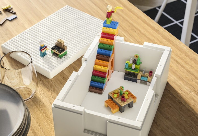 玩具收納法寶 IKEA X LEGO聯乘系列 小朋友遊戲中學習收納 百變貯物盒鬆融入家居生活