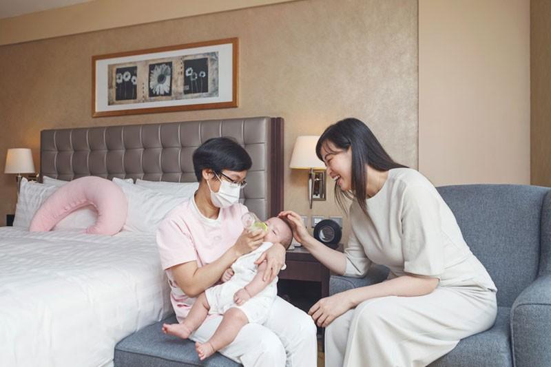 酒店陪月Staycation丨2大酒店「坐月套餐」比拼丨客房配套、坐月食療、産後紮肚美容