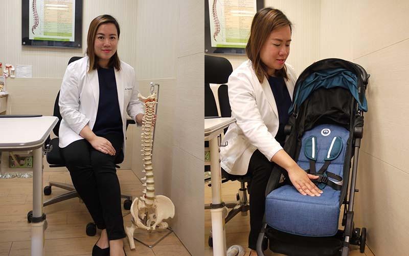 脊醫教路 幫寶寶揀部護脊BB車