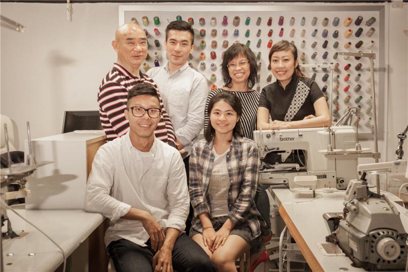 小小口水肩「香港製造」的窩心故事