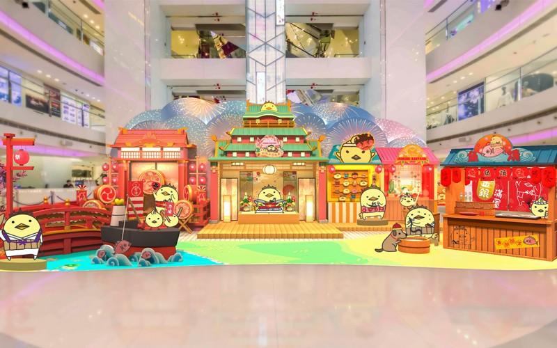 雞年必到!9大商場卡通裝飾等你打卡