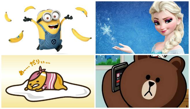 暑假6大「野生捕獲」卡通人物