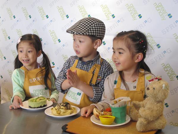 名人親子下廚 培養子女健康飲食